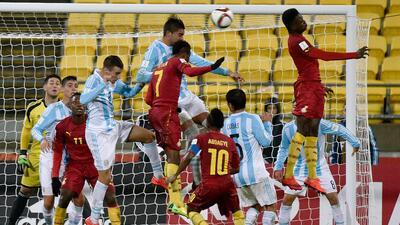 Argentina no pudo con Ghana