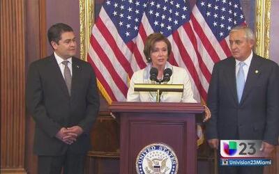 Presidentes llegan a Washington para discutir crisis de migración de niñ...