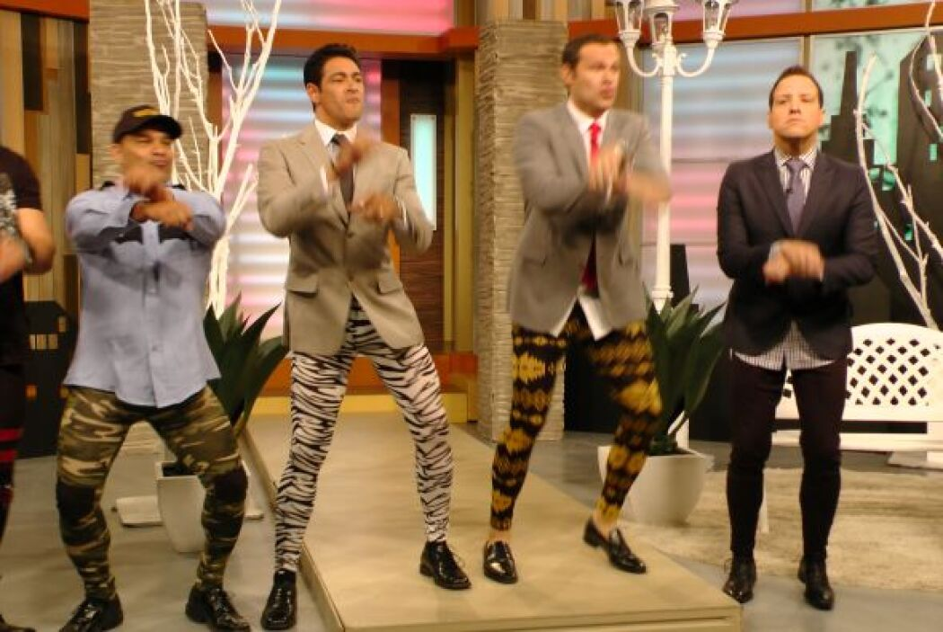 ¡Tan cómodos que bailaron ''Gangnam Style''.