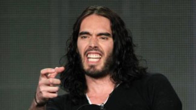 Russell Brand, quien se separó de Katy Perry a finales de diciembre, est...