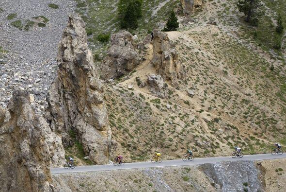 La 19na etapa del Tour de Francia se lleva a cabo en Alpe d'Huez.