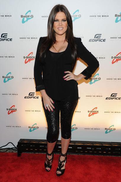 Khloe Kardashian es una bella personalidad de televisión y modelo...