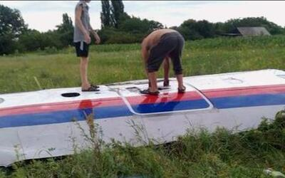 Un avión de Malasia cayó en la frontera entre Ucrania y Rusia