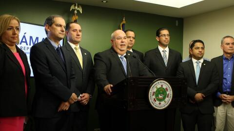 Presidentes de comisiones de Hacienda y Gobierno de la Cámara