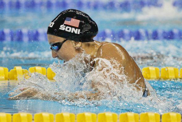 La final de 100 metros braza fue para Estados Unidos con Rebecca Soni.