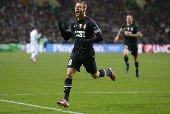 Claudio Marchisio puso el 0-2 al 77'.