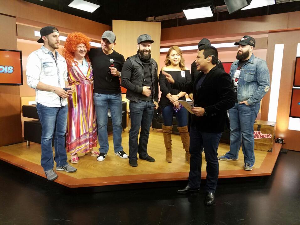 Ni la Turkylina se quiso perder la visita con La Leyenda a El Show de Ra...