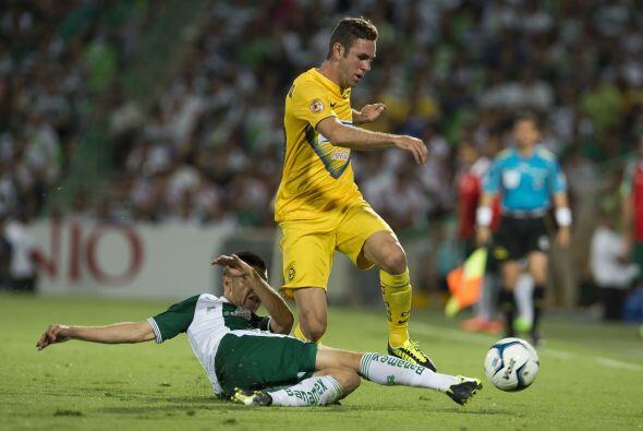 Miguel Layún se coloca como el líder con tres tantos (ante León, Pumas y...