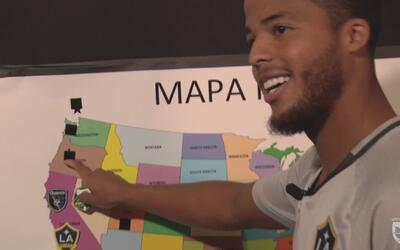 Giovani dos Santos demostró sus conocimientos de los clubes de la MLS… ¿...