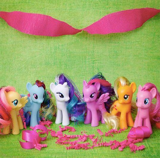 Un clásico. Y por supuesto, los Pequeños Pony, ¡jam&...