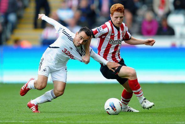 Swansea y Sunderland no jugaron a nada y terminaron 0 a 0.