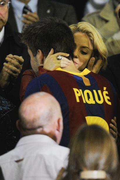 Shakira es la única WAG que es  igual o más famosa que su...