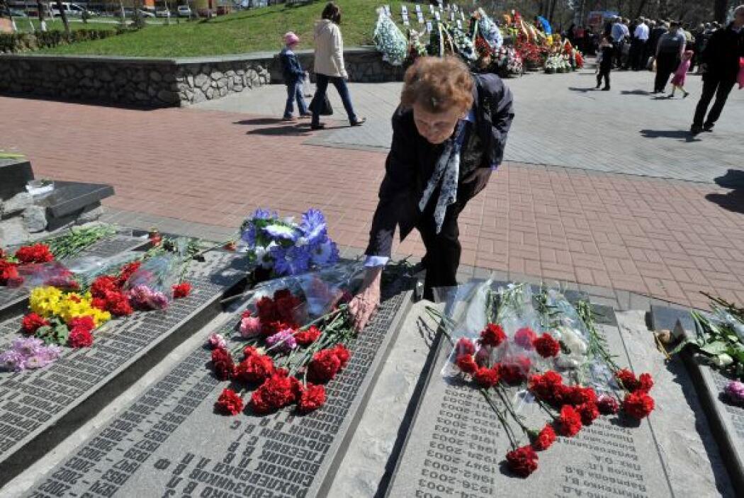 Casi tres décadas después de los hechos, los médicos bielorrusos observa...