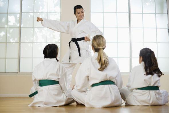 La ventaja de las artes marciales es que también manejan el sentido de l...