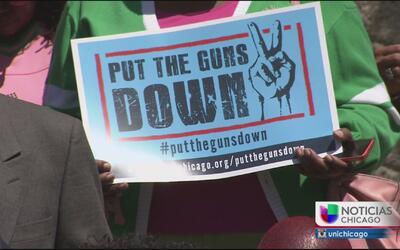 Campaña busca concientizar para reducir el número de armas