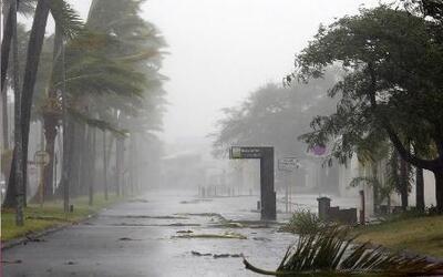 Un 'huracán de tierra' podría golpear el centro del país