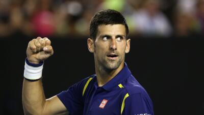 Novak Djokovic es el máximo favorito para ganar el Masters 1.000...