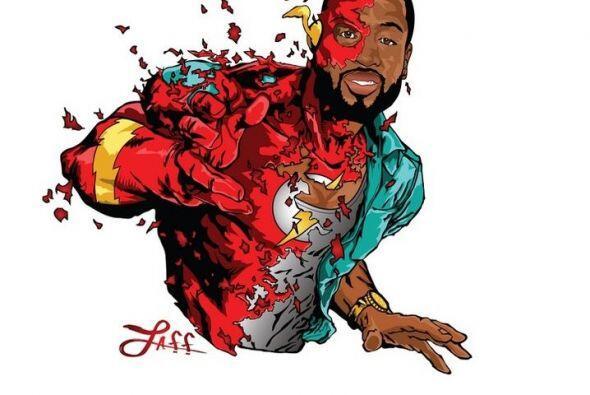 Dwyane Wade es 'Flash'.
