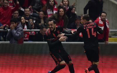 Benfica derrotó 1-0 al Braga