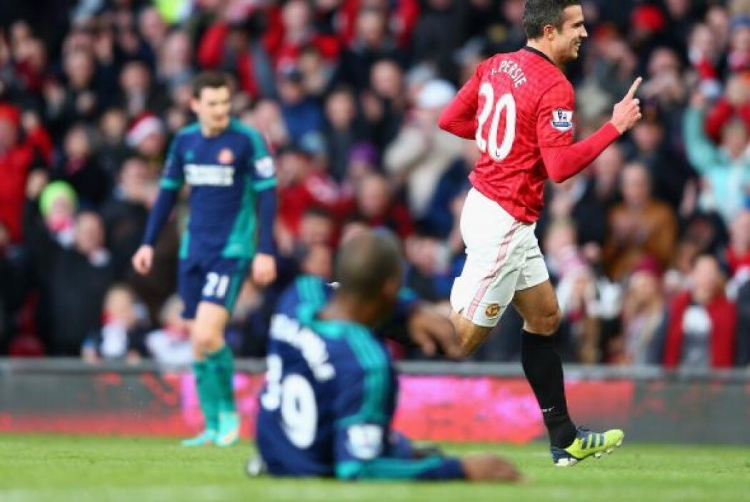 El delantero del Manchester United lideró a los 'Red Devils' en su choqu...