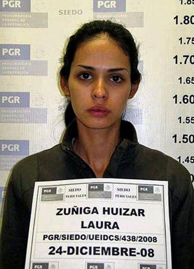 A la reina de belleza se le acusó de narcotraficante, ya que fue arresta...