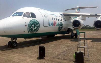 Este era el avión de la empresa LaMia accidentado en Medell&iacut...