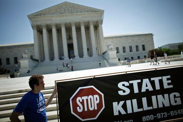 Son 18 estados de EEUU en los que no se practica la pena de muerte, adem...