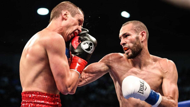 José Pedraza dominó toda la pelea.