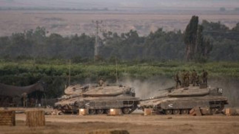 El gabinete de seguridad israelí decidió llamar a filas a 40 mil reservi...
