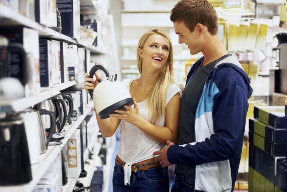 10. Puedes solicitar que tus invitados compren electrodomésticos pequeño...