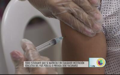 La importancia de las vacunas para el inicio de clases