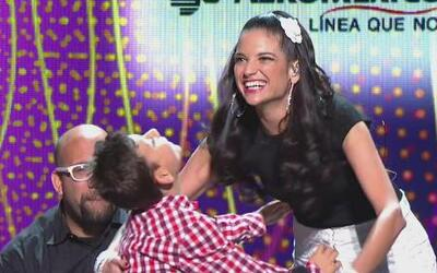 ¡Por fin Natalia y Adrián se encontraron frente a frente!