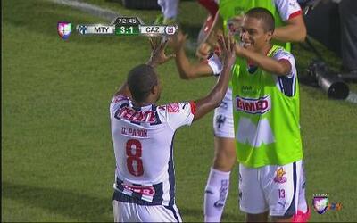 Monterrey vs Cruz Azul: Gran remate de Pabón para el tercero de monterrey