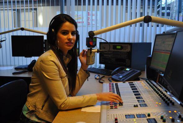 Vanessa fue la invitada de lujo en Univision Radio.