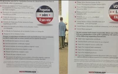 Residentes de Texas se quejan de letreros engañosos que exigen requisito...
