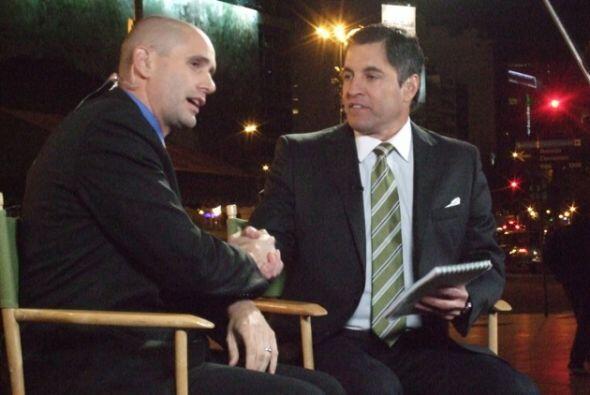 Los conductores, Iván Kasanzew y Ricardo Celís, conversan acerca de los...