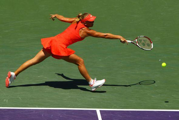 Wozniacki tuvo menos errores no forzados (14-22).