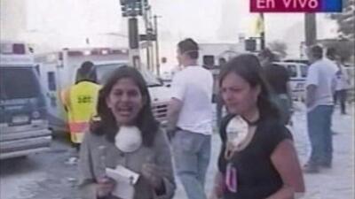 Natalia Cruz corresponsal de Primer Impacto comparte esta Crónica person...