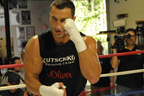 Entrenamiento Wladimir Klitschko