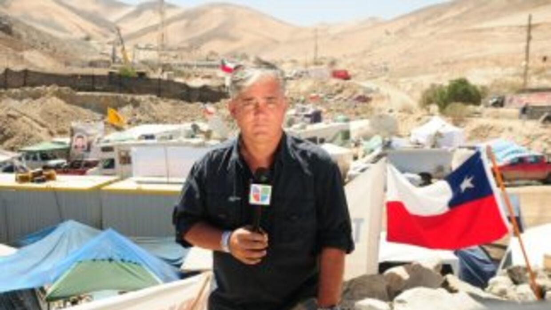 """El periodista Ricardo Arambarri relató su experiencia en el """"Campamento..."""
