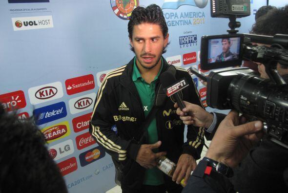 La derrota por 1-0 también significó tristeza para Rafael...