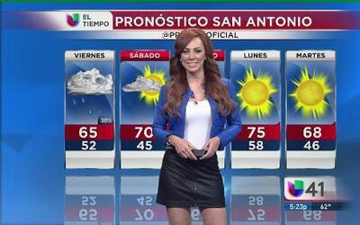 Se acaban las lluvias en San Antonio