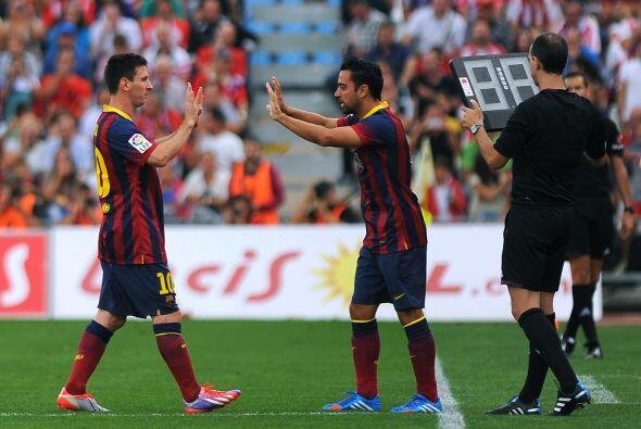 Poco después Messi salió lesionado.