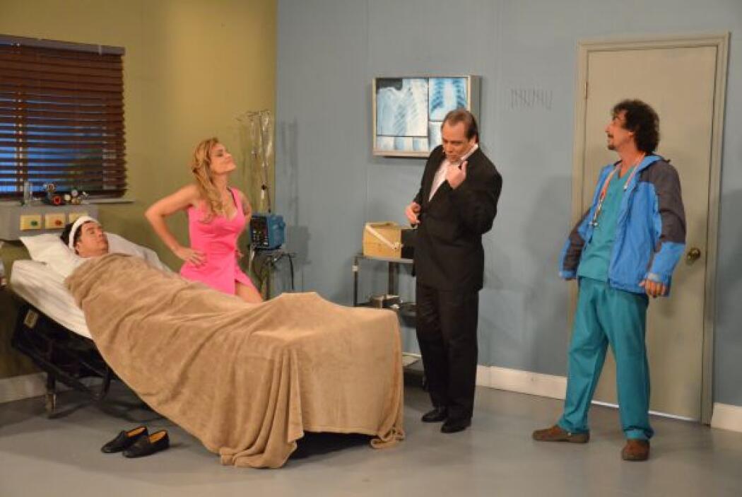El enfermero Ruperto llegó en el mejor momento posible, para enterarse d...