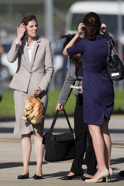 Para los que creen que la duquesa Kate es quien cuida del principito Geo...
