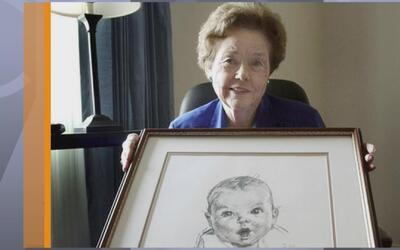 La bebé de los empaques de alimentos Gerber cumple 90 años