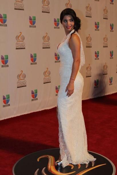 Además de elegante, Chiquinquirá Delgado es nuestra primera nominada a s...