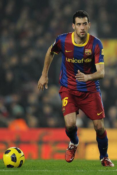Sergio Busquets: Aunque no ha hecho partidos tan brillantes como la pasa...