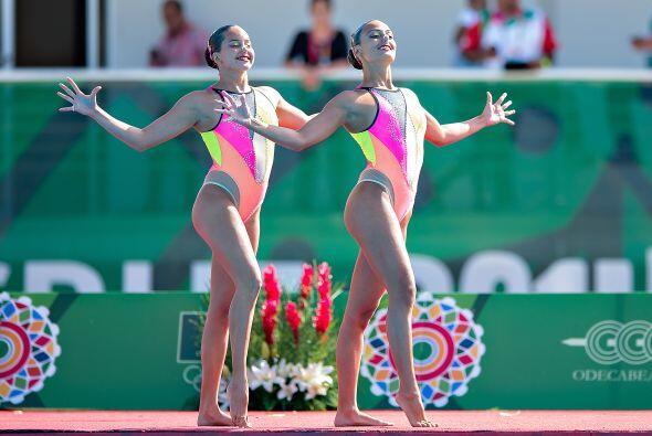 La medalla de plata en la rutina de dueto libre de nado sincronizado fue...