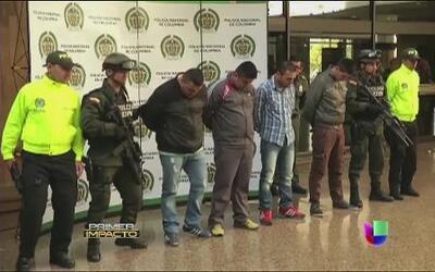 Siete miembros de una banda criminal son extraditados a Estados Unidos